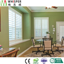 Horizontal Custome Made Clear Aluminium Plantation Shutters