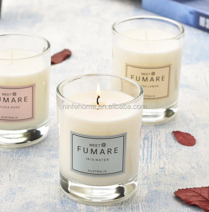 soy wax aromatic candles