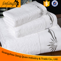 hotel linen embroiedery hotel 21 thin cotton wholesale bath towels