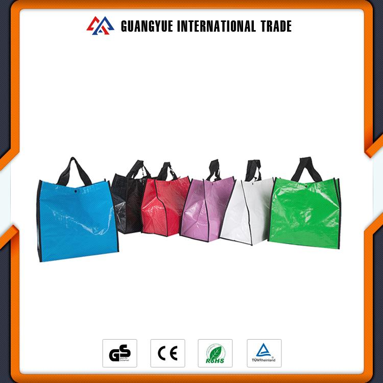 Guangyue Products 2017 China Most Popular Laminated Pp Woven Shopping Bags