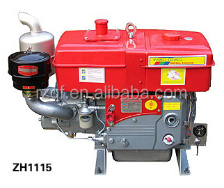 Changchai Type 22HP water cooled diesel engine ZS1115