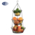 3 tiers metal hanging fruit basket