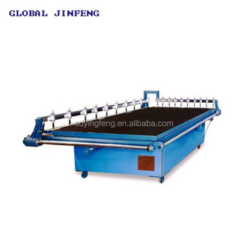 JFQG-2620 convenient manual glass cutting table cutting machine