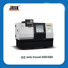 small cnc lathe machine model/lathe price with slant bed and hydraulic collet CXK32
