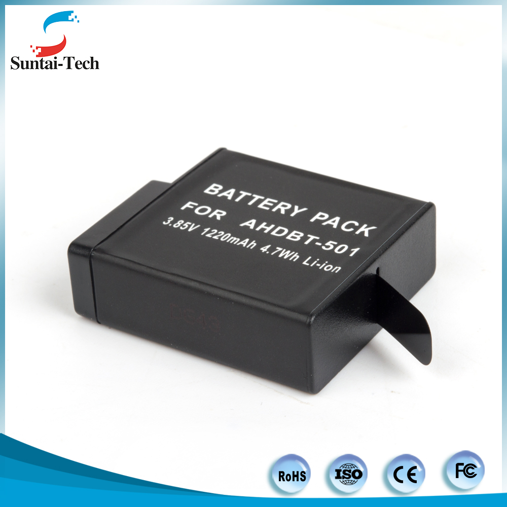 Factory price Battery for Go Pro Heros 5 4 3, GoPros Heros 5 4s 4 3+ 3 Battery Manufacturer