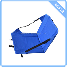 BLUE Stadium Bleacher Cushion Chair, Padded Folding Portable Sports Seat