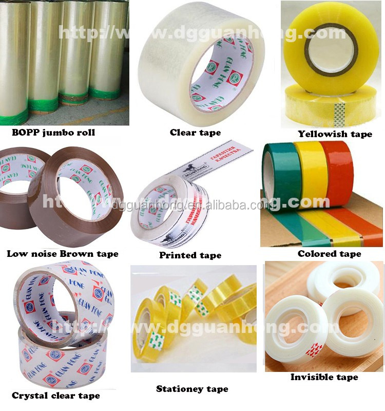 Hot sale high performance price ratio bopp customized adhesive tape