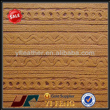 abrasive resistance recycle synthetic pu leather stock