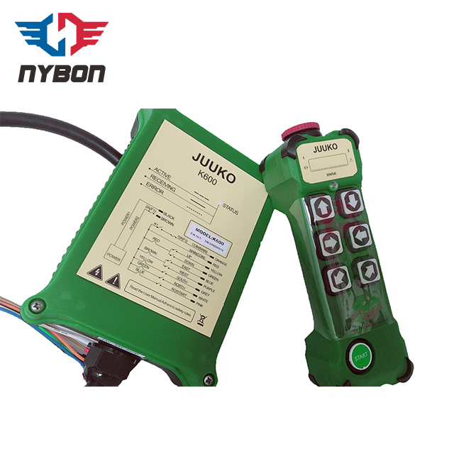 High quality machine JUUKO Single or Double Speed crane Wireless Remote Controller