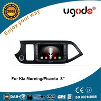 HD touch screen 1024*600 android car dvd player for KIA Picanto morning