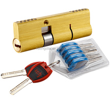 60- 120mm Brass euro master key door cylinder lock codes