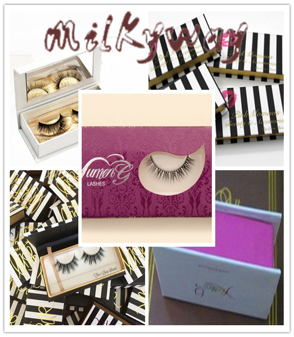 wholesale cheap Beautiful strip 3D hand made mink fur eyelash