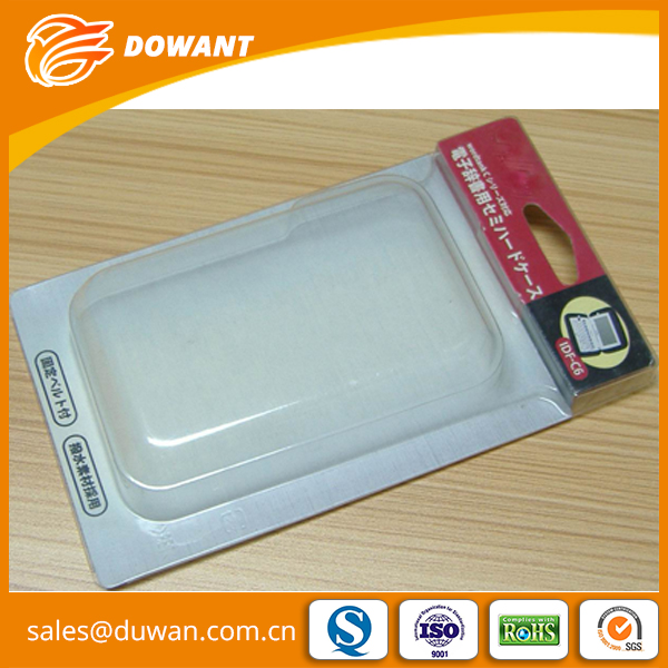 High quality waterproof plastic pvc blister packaging