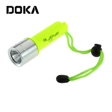 Compact Dimmable Underwater Diving Equipment Bright Light Torch Rechargeable