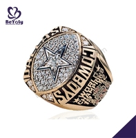 1992 Dallas Cowboys World Champions red sox replica championship rings
