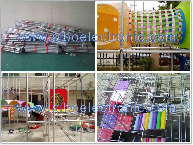 GM-kids playground with electric water slide wholesale