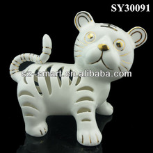 zodiac lucky tiger animal table decoration