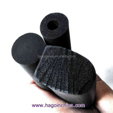 custom soft and elastic foam rubber seal strip with four skins
