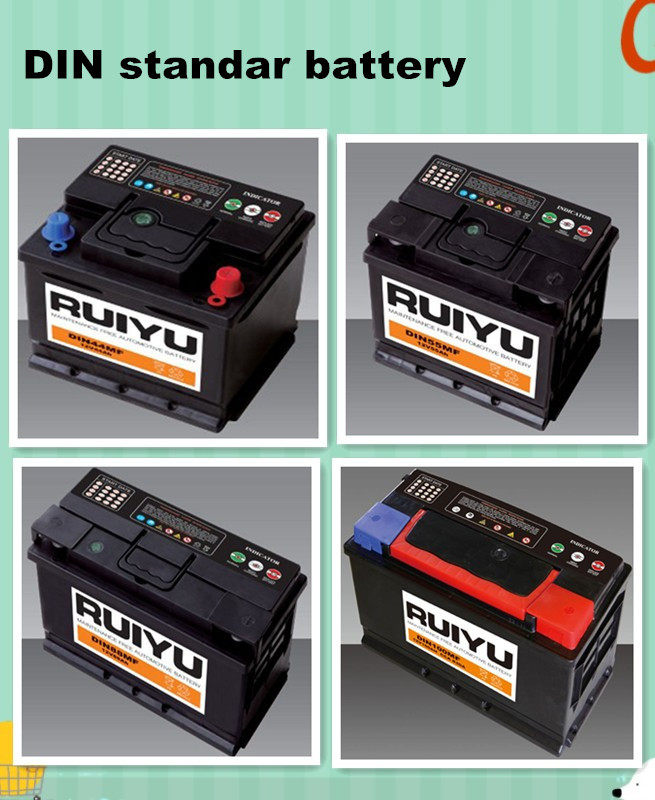 Korea quality N150 for starting reconditioned car batteries for sale