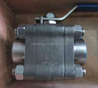 BS 5351 forged steel ball valve Manufacturer