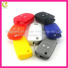 Wholesale high quality and factory price direclty supply silicone car key case shell for Buick/VW/Ford/Nissian/Kia