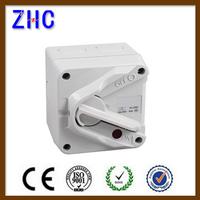 IP66 waterproof retractable light isolator switch socket fan outlet