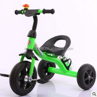 2016 good quality baby tricycle new models/eec trike 3 wheel children tricycle/simple baby trike tricycle for sale