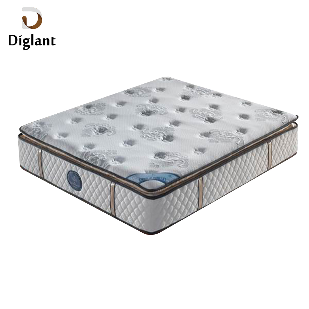 JE-99 Diglant Medium Simple White Bed Spring Mattress with Handles - Jozy Mattress | Jozy.net