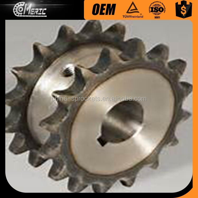 CONVEYOR DOUBLE-SINGLE CHAIN SPROCKET WHEEL