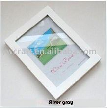 White wooden picture frame hot selling in 2012