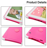 High Quality Cheap Wholesale 7 Inch Kids Kid Tablet PC 512MB RAM Android 4.4 study game learning pad education Game Christmas Gi