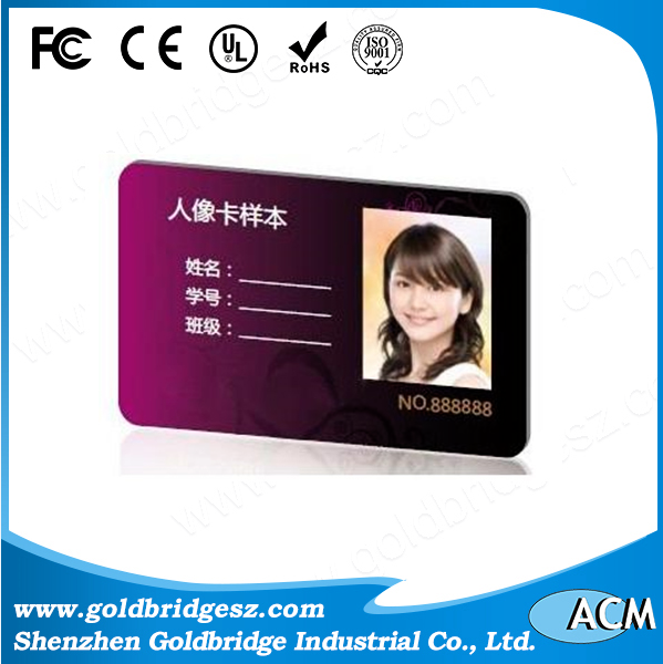 China Factory 125khz PVC tk4100 white and printable rfid smart card Working with 125khz RFID reader For Time attendance