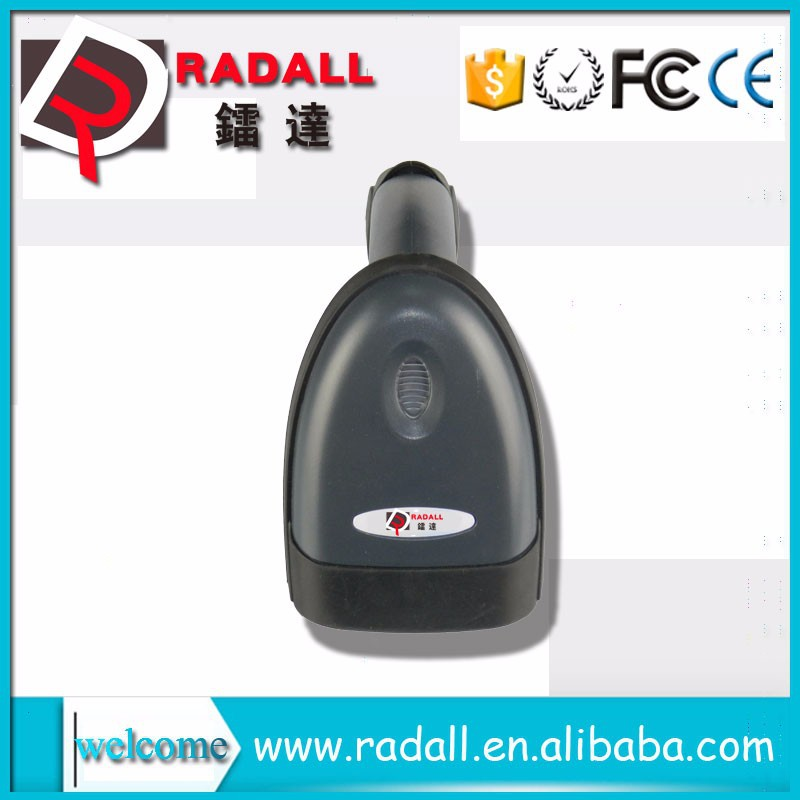 RD - 2011 Portable Black Handheld USB 16bit Laser Barcode Code Scan Reader Scanner High Quality