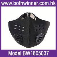 Carbon filter face mask/active carbon face mask ,h0tWB sports half face mask for sale