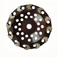 7 inch arrow segment diamond concrete grinding disc