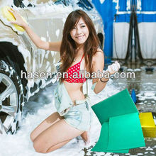 Eco-friendly super absorbent best quality nonwoven fabric for car cleaning towel