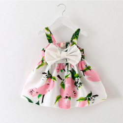 Wholesale High Quality Flower Girl Dress Children Cotton Dresses new fashion party cotton dress