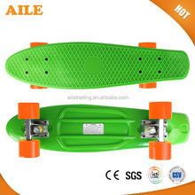 Wholesale Top Quality Fresh PP 22 Inch Plastic Board Ridge Cruiser Skateboard