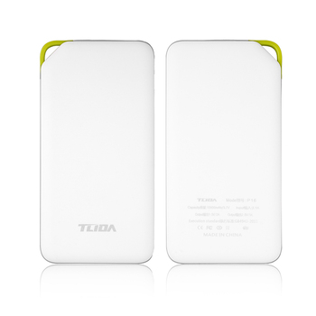 10000mAh Power Bank Portable External Battery Pack OEM Logo polymer battery charging for mobile phone