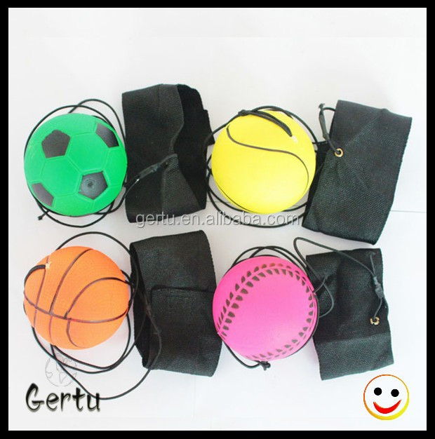 2016 wholesale cheapest return string rubber ball