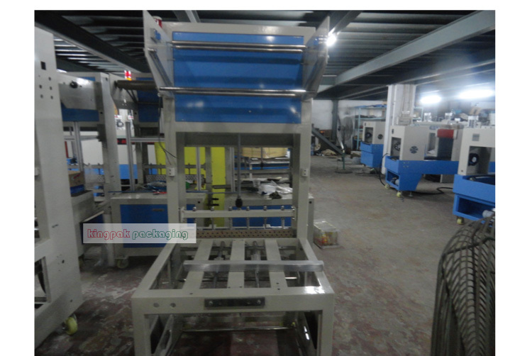 ST6030AF Side Feed Automatic Bottle Shrink Wrapping Machine