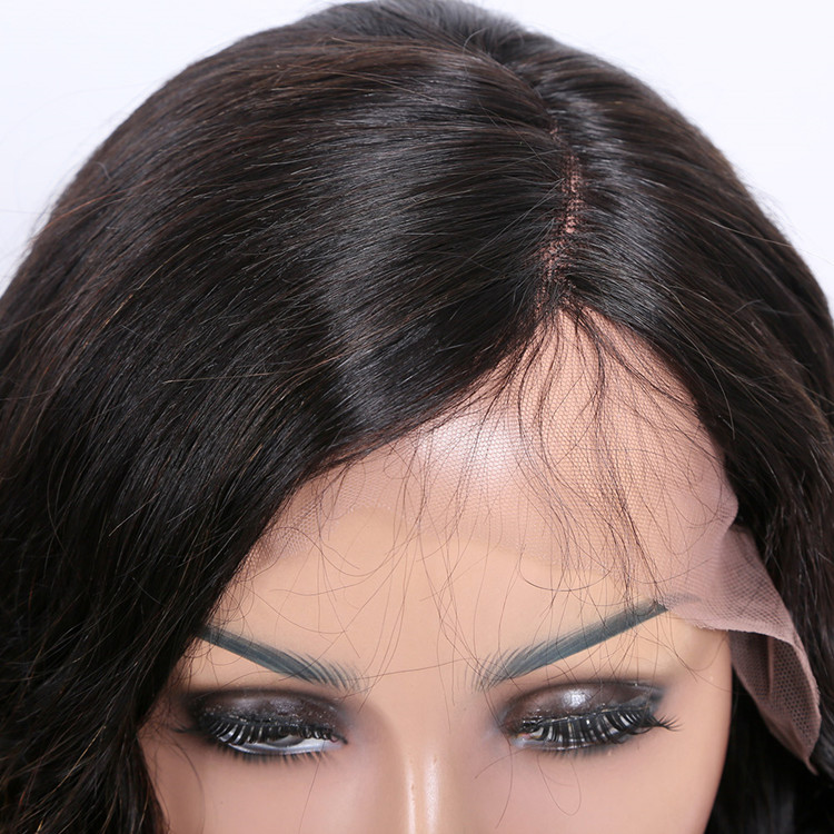 Premier 2018 new arrival natural short Indian remy hair left side part lace wig for women