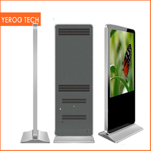 55'' Indoor LCD advertising player lcd advertising display video player digital signage internet kiosk portable photo booth