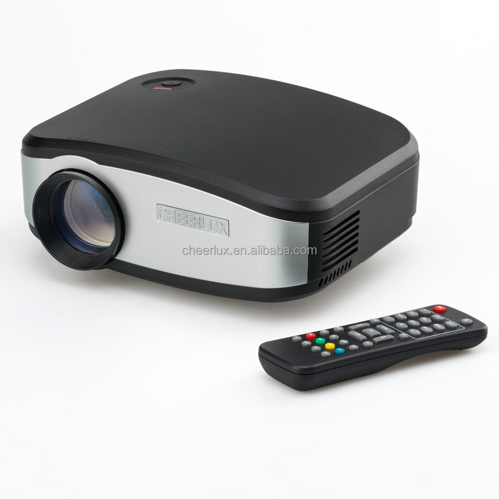 brand new factory price cheerlux mini projector C6 drop shipping service supported