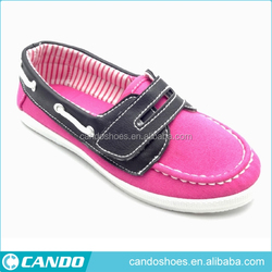 2016 Summer Boat shoes with new patterns casual women shoes