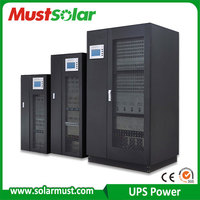 Online UPS Low frequency 60KVA 100kva 3 phase ups for data center