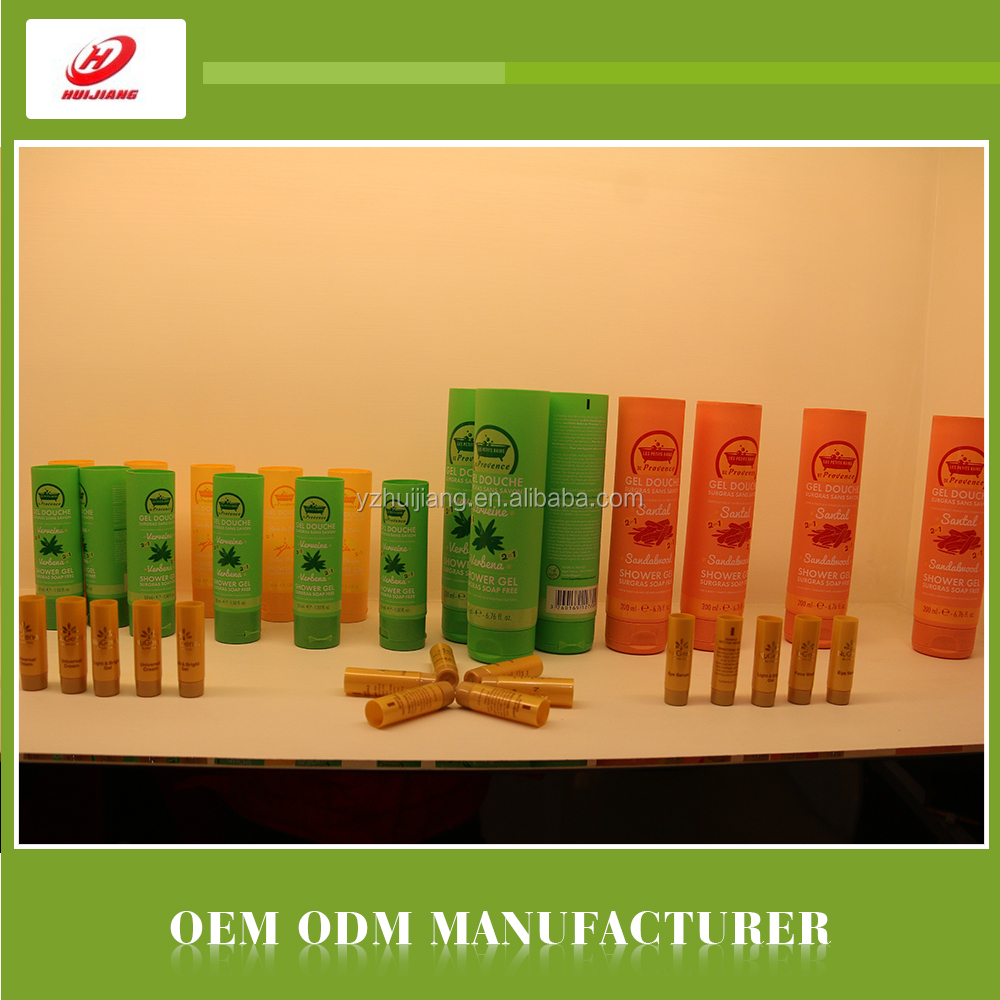 OEM EVOH/LDPE cosmetic tube packaging FOR body lotion/shampoo/shower gel container