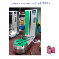 High Quality Factory Price Wholesale Plastic Stretch Film Automatic Airport Luggage Wrapping Machine