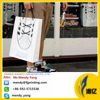 sport shoes printing kraft shopping bags