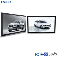 65Inch lcd panel wall mount touch advertising display monitor for Retail used